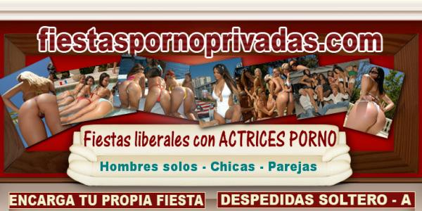 Fiestas Liberales con actrices porno en Barcelona